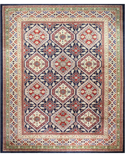 Louise One-of-a-Kind Hand-Knotted Rug, 9.1' x 11.7'