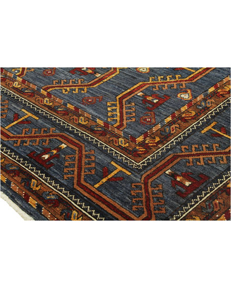 Winter One-of-a-Kind Hand-Knotted Rug, 7.2' x 10.4'