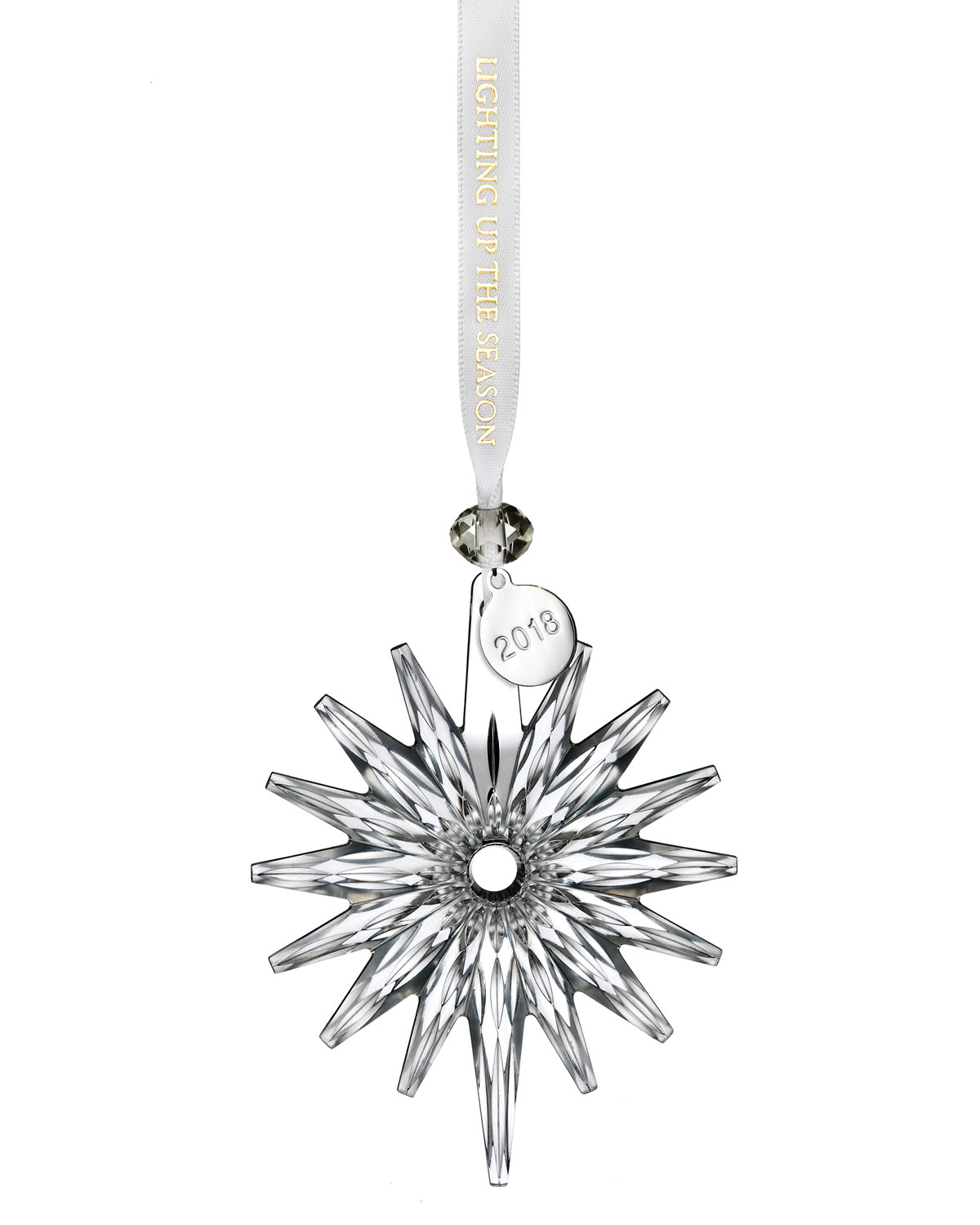 Waterford Crystal 2018 Annual Snow Crystal Christmas Ornament ...