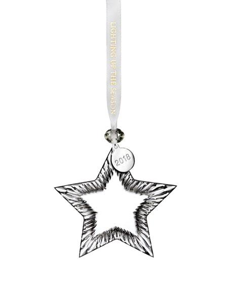 2018 Star Christmas Ornament