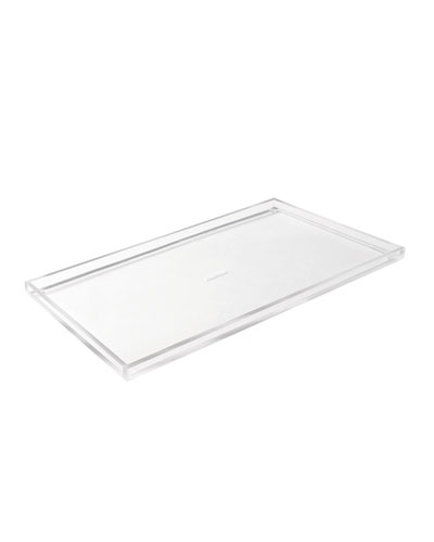 Wide Acrylic Bloc Tray