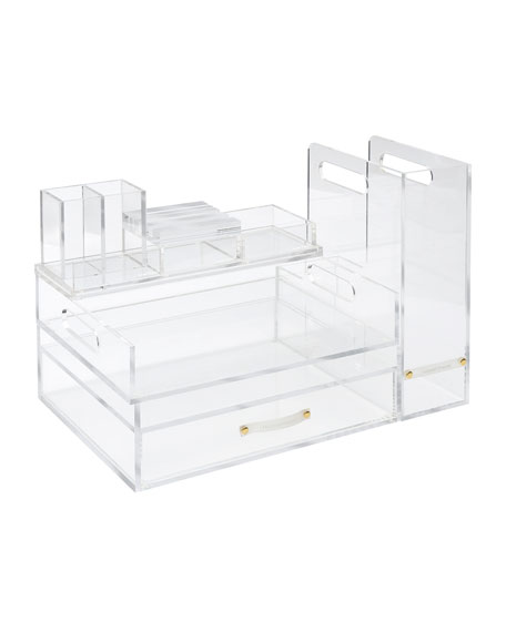 Acrylic Signature Solution Desk Organizer