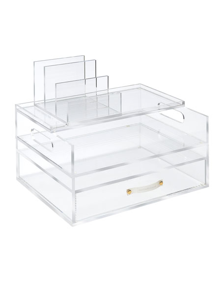 Acrylic Medium Solution Desk Organizer