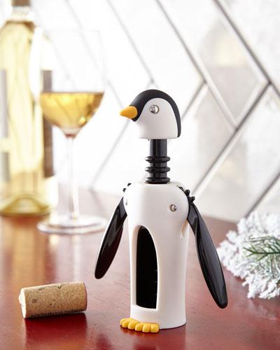 Kingsley Winged Penguine Corkscrew Wine Opener