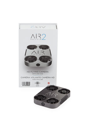 AirSelfie AirSelfie2 HD Flying Camera with Leather Carrying Case