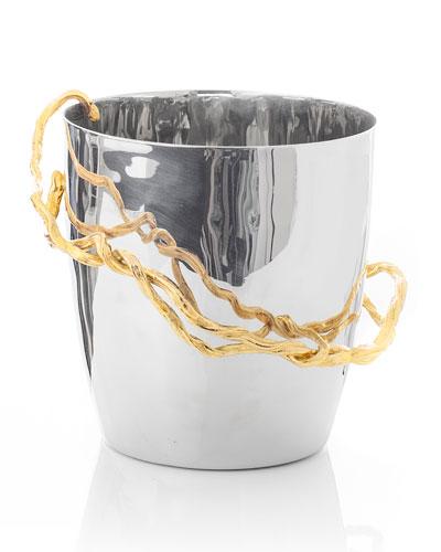 Wisteria Gold Champagne Bucket