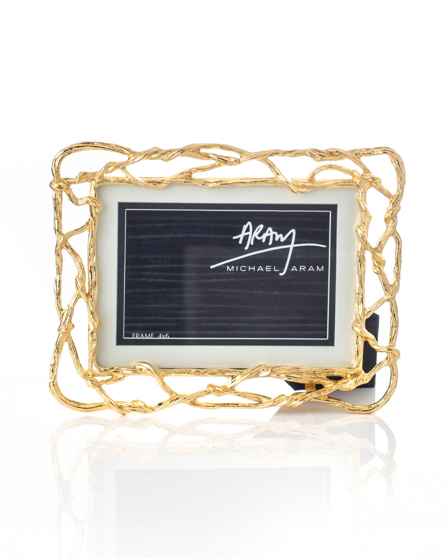Michael Aram Wisteria Gold Frame, 5\