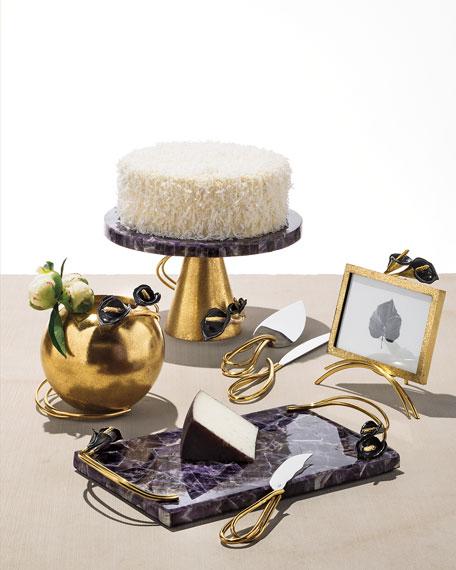 Michael Aram Calla Lily Cake Knife Server Set