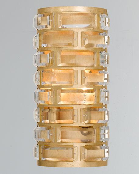 Meridian 4-Light Antiqued Gold Sconce