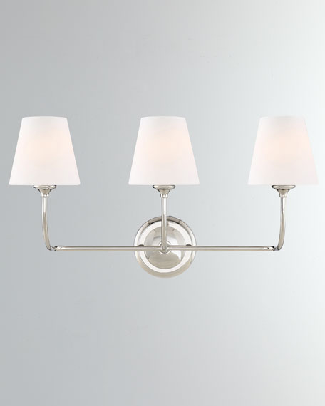Sylvan 3-Light Forged Bathroom Vanity