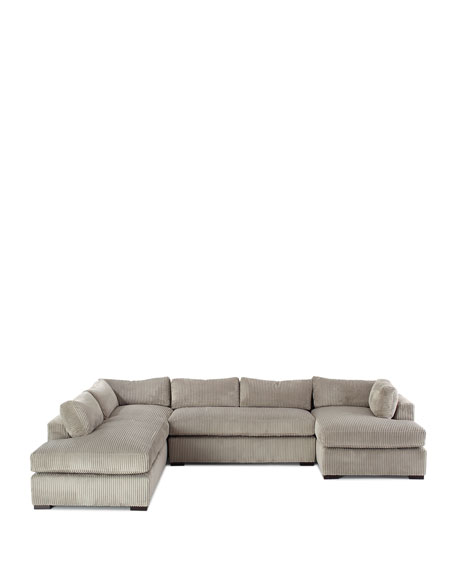 Mitchell Upholstered Sectional Sofa (Left Facing)