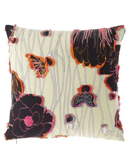 Missoni Home Valmadera Poppies Pillow, 16