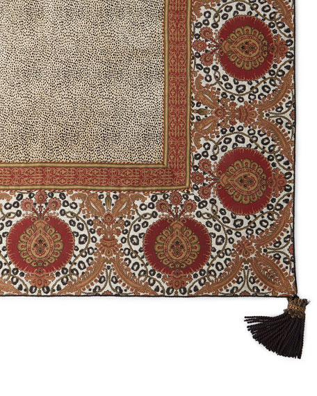 Maximus Square Tablecloth with Tassels