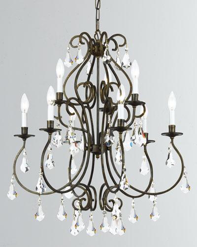 Ashton 9-Light English Bronze Chandelier