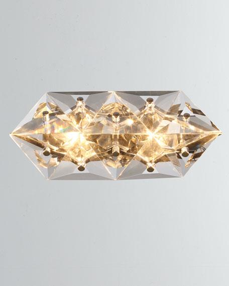 Collins 2-Light Polished Chrome Sconce