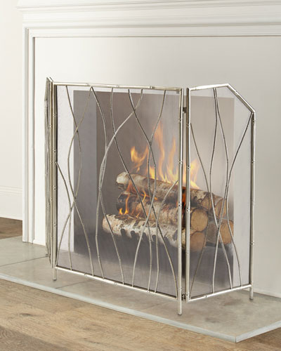 Mino Fireplace Screen
