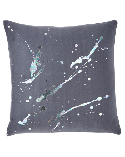 Constellation in Prism Dusk Fleece Pillow