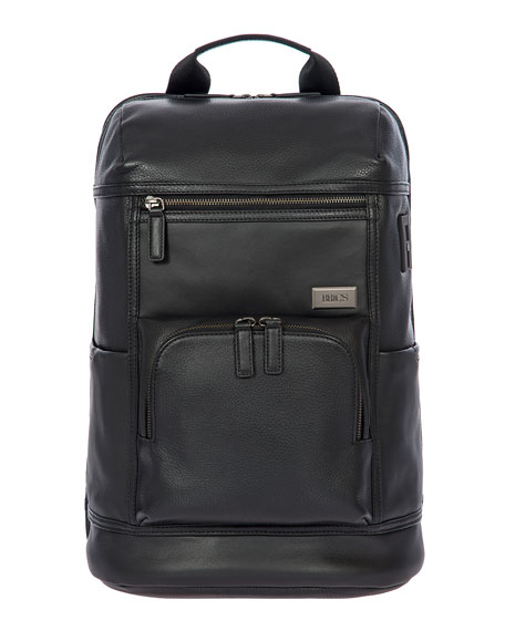 Torino Men's Leather Urban Backpack