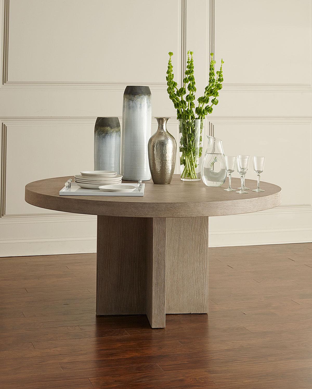937cc6d44c29 Bernhardt Adler Round Dining Table | Neiman Marcus