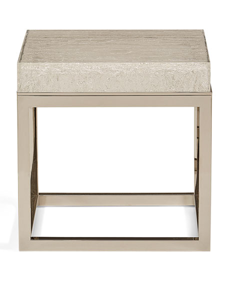Elsa Arctic End Table