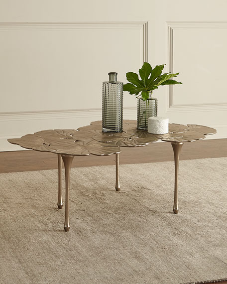 Annabelle Gingko-Leaf Coffee Table