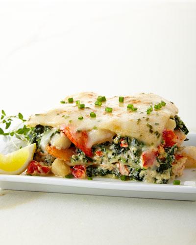Lobster, Shrimp & Scallop Lasagna