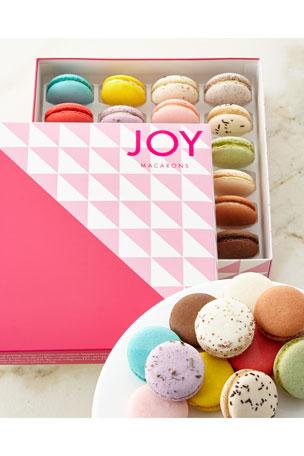 JOY Macarons Set of 24 Assorted Macarons