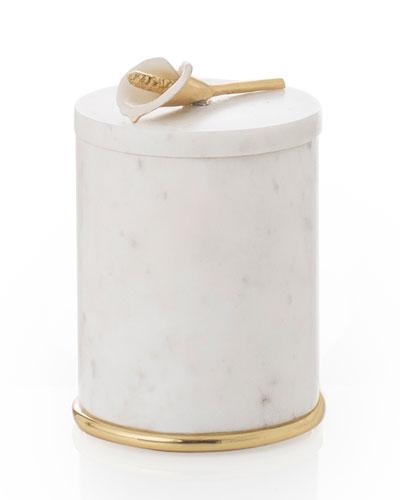 Calla Lily Round Container