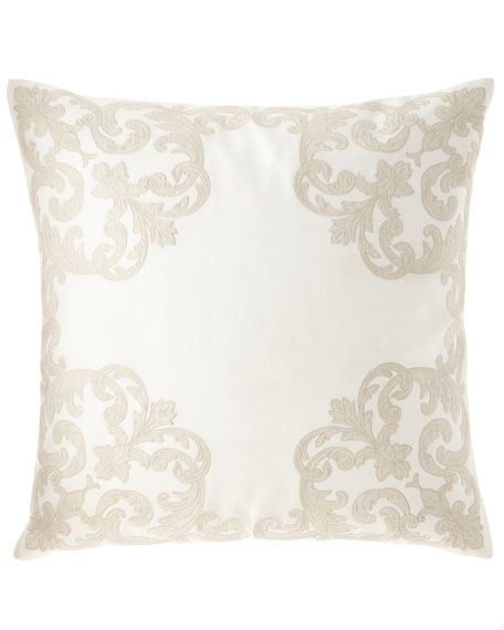 Carriage Cartouche European Sham