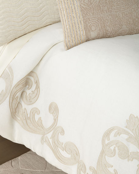 Carriage Cartouche Queen Duvet