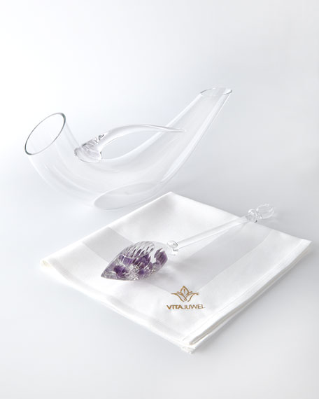 Vino Vial and Wine Decanter