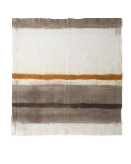 Kim Seybert Horizon Dyed Ombre Linen Napkin and