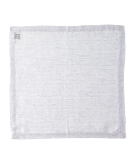 Kim Seybert Chambray Gauze Linen Napkin and Matching