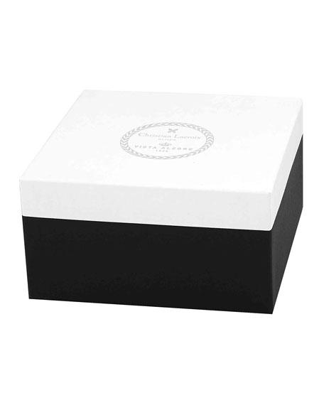 American Floral Porcelain Box
