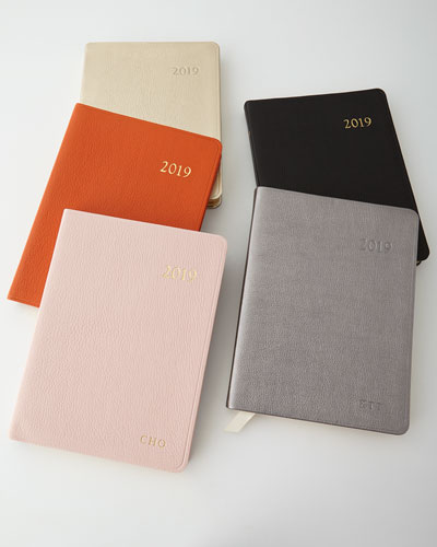 Personalized 2019 Desk Diary