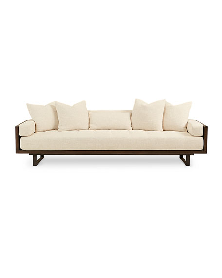 Preston Modern Tufted Sofa 99""