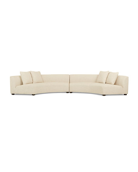 Belmount 2-Piece Curved Sectional