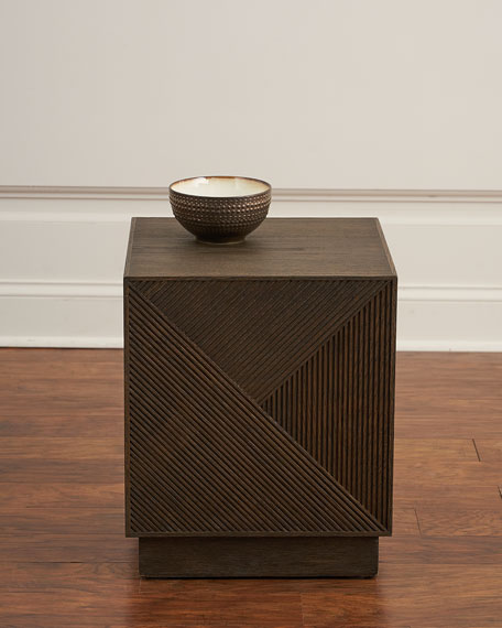 Wade Linear Pattern End Table