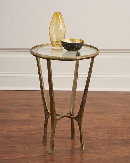 Yardley Bronze End Table