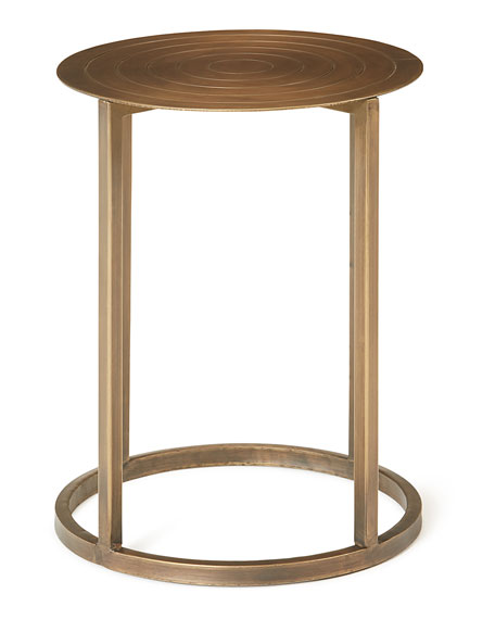 Trinity Bronze End Table