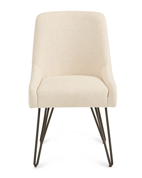 Putney Dining Chair on Metal Base