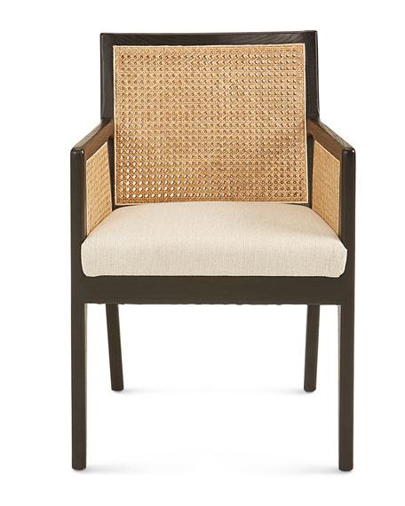 Callie Cane Dining Arm Chair