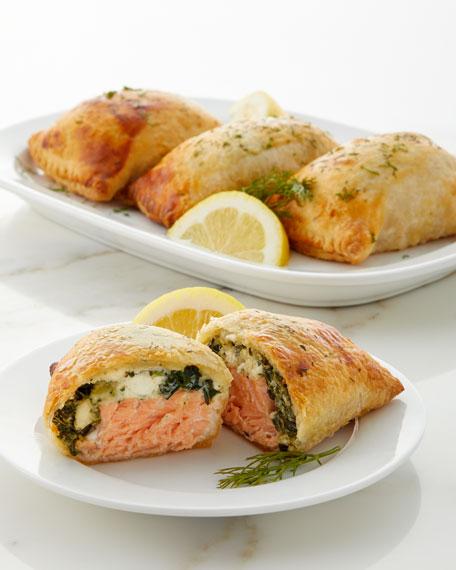 Culinaire Salmon Wellingtons, Set of 4