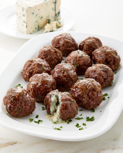 Blue Cheese Stuffed Meatballs  Set of 12