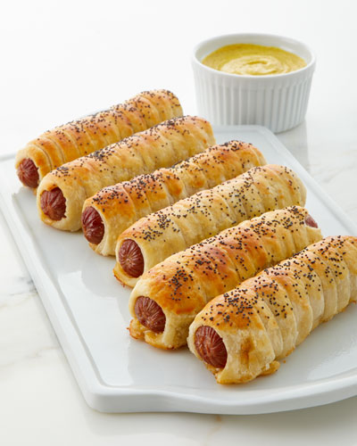 Franks in a Blanket Appetizer