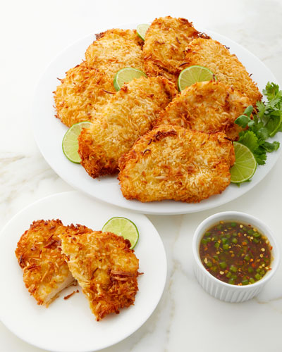 Coconut Crusted Chicken Breasts, Set of 8