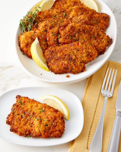 Chicken Breast Schnitzels, Set of 8