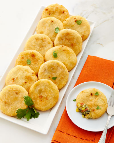 Arepa Vegetable Rounds  Set of 12
