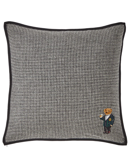 Ralph Lauren Home Bartley Bear Decorative Pillow