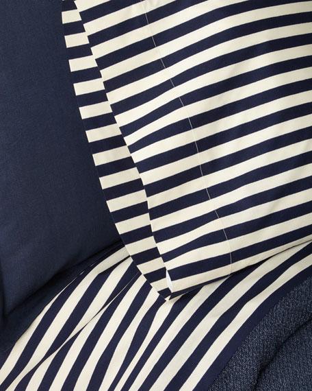Camron Striped Queen Flat Sheet